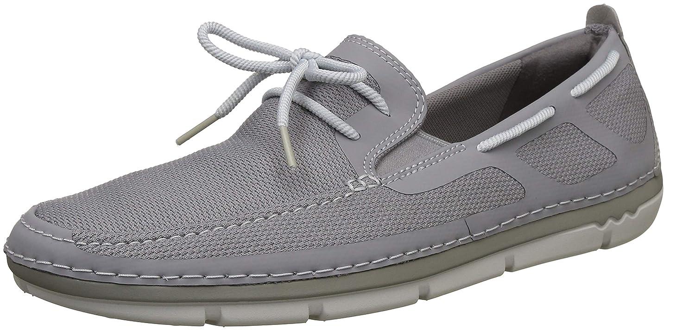 Clarks Step Maro Wave, Zapatos de Cordones Derby para Hombre 43 EU|gris