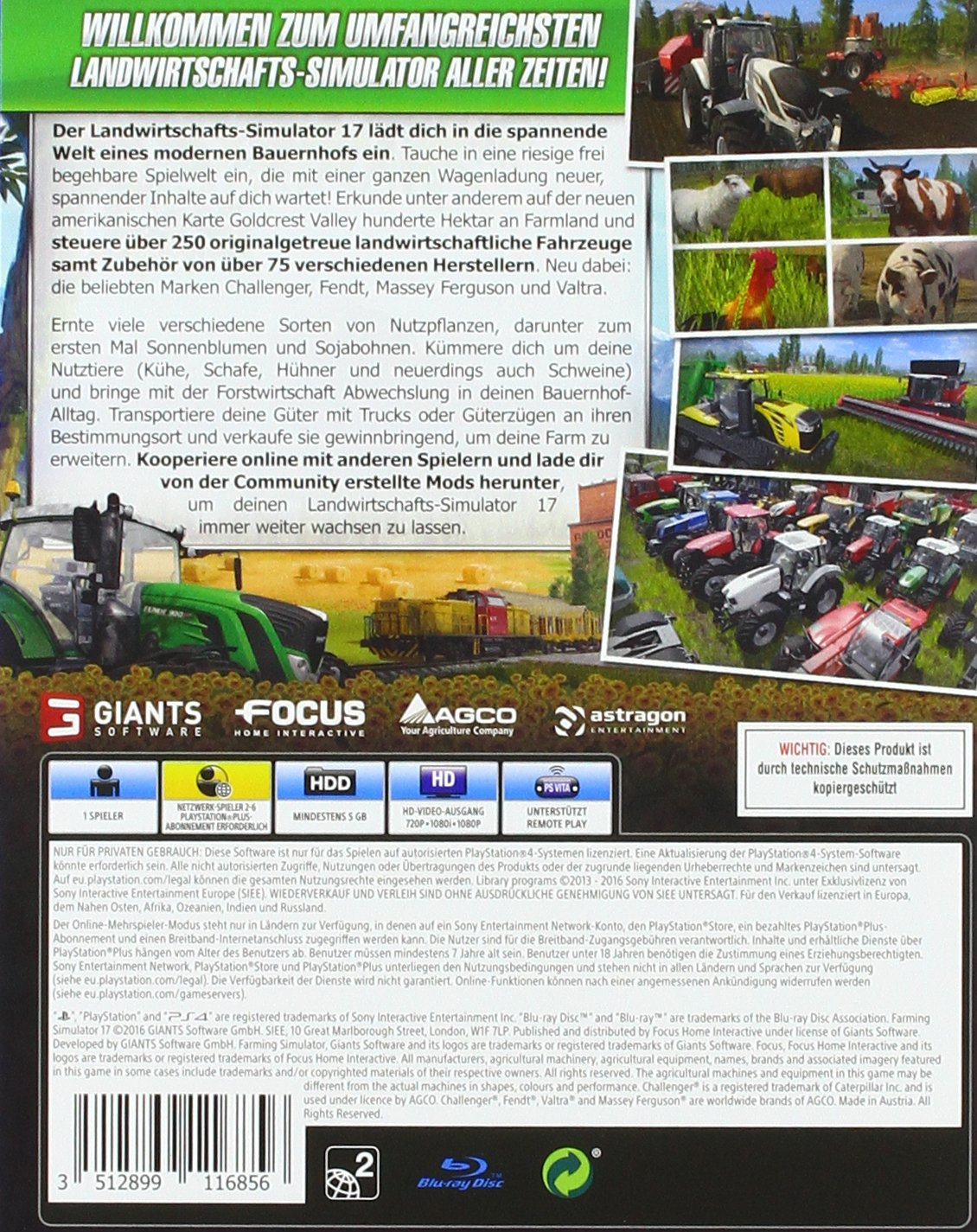 Landwirtschafts-Simulator 17 [PlayStation 4]: Amazon.de: Games