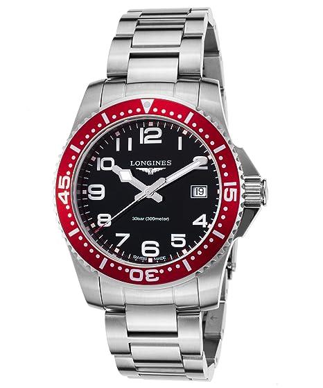 LONGINES RELOJ DE HOMBRE CUARZO SUIZO CORREA Y CAJA DE ACERO L36894596: Amazon.es: Relojes