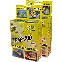 Tear-Aid Kit de reparación Tipo B Hinchable de Vinilo, Amarillo, 1 Paquete