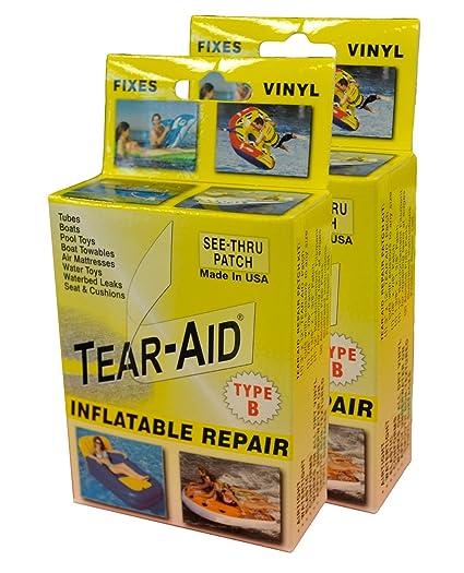 Amazon Com Tear Aid Repair Type B Vinyl Inflatable Kit Sports