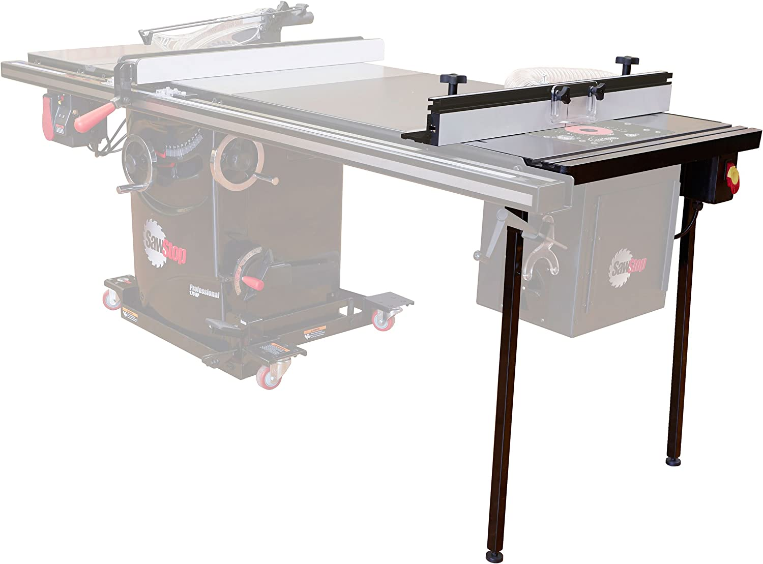 "SawStop RT-TGP Assembly: TGP2 27"" In-Line Router Table"