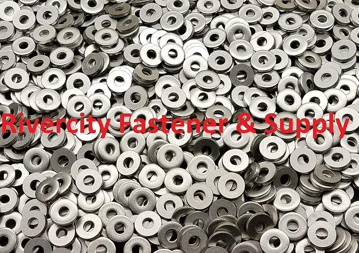M6 Metric Stainless Steel Extra Thick Heavy Duty 6mm Flat Washers 100