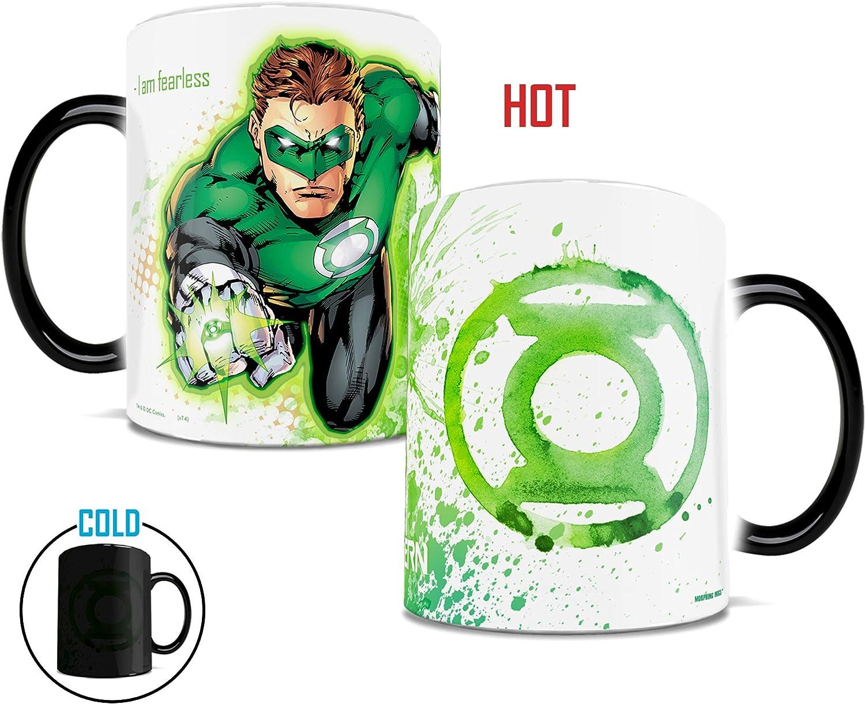 Superman Black Morphing Mugs DC Comics Justice League Ceramic Mug