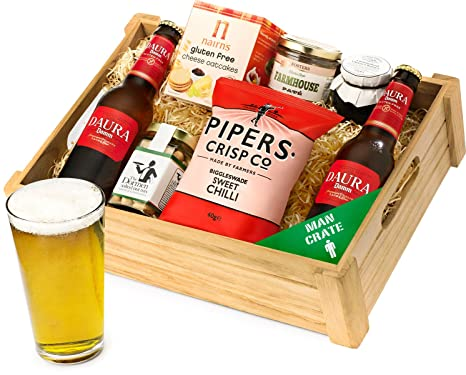 Regency hampers beer gluten free man ale crate and snack selection regency hampers beer gluten free man ale crate and snack selection tray negle Image collections