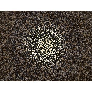 Fototapeten Mandala 352 x 250 cm Vlies Wand Tapete ...