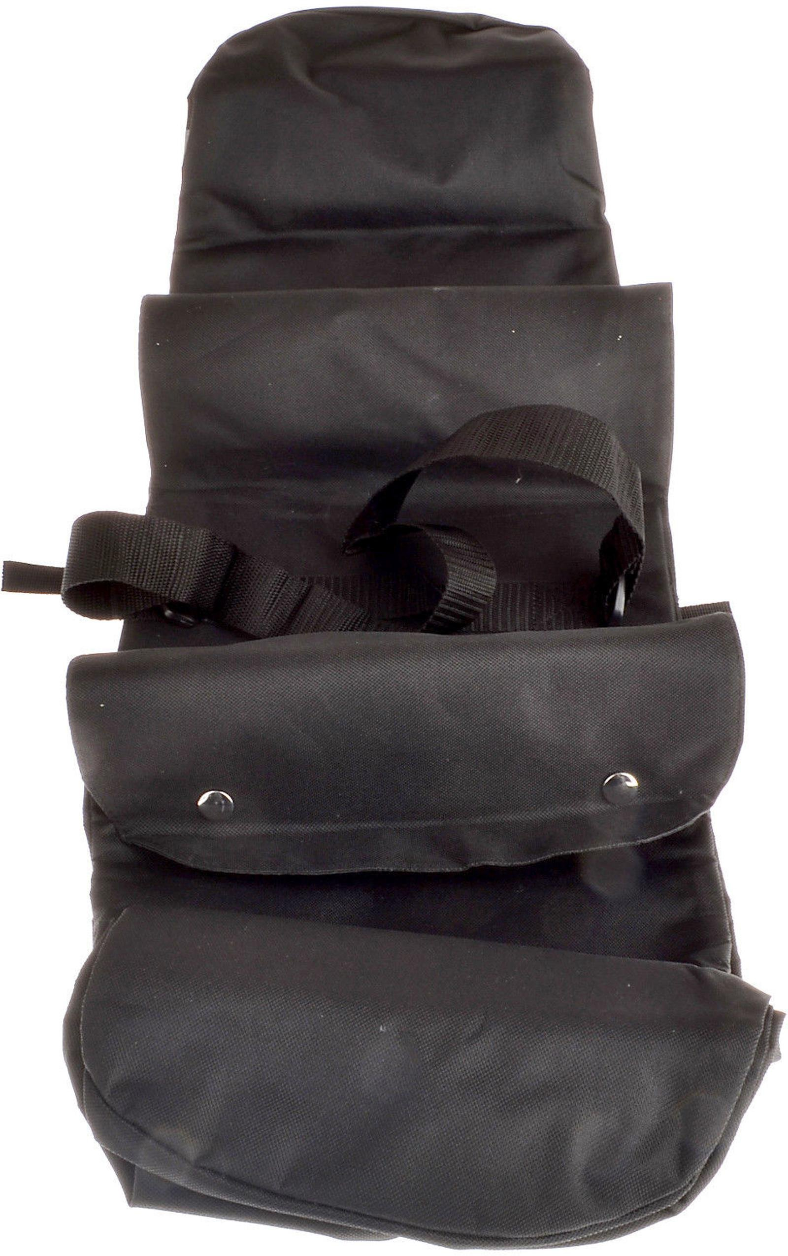 Huffy Cruiser Rollup Rear Pannier Bag Black by HUFY (Image #5)