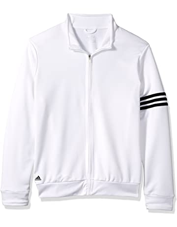 c4d30aa9e adidas Ladies' ClimaLite 3-Stripes French Terry Full-Zip Jacket
