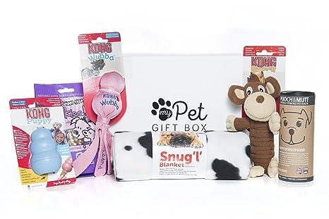 Caja de regalo para el primer cumpleaños de cachorro, regalo ...