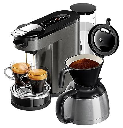 Senseo HD6596/50 - Cafetera (Independiente, Máquina de café en cápsulas, 1