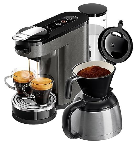 Senseo HD6596/50 - Cafetera (Independiente, Máquina de café ...