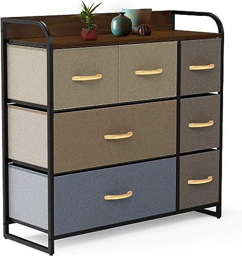 DORPU 7-Drawer Dresser - the best bedroom dresser for the money
