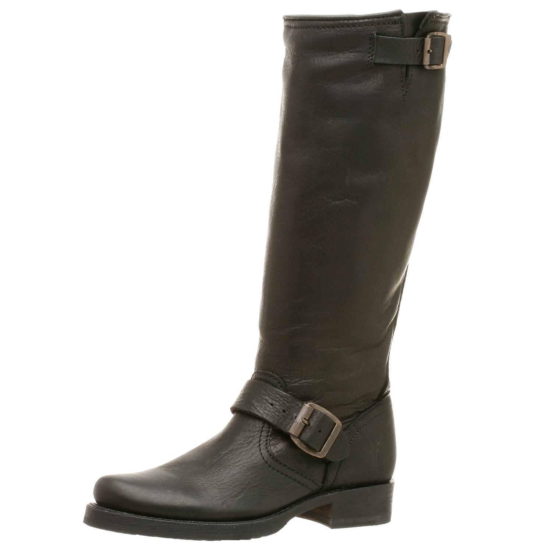 FRYE Women's Veronica Slouch Boot B000IVAT0C 9 B(M) US|Black Tumbled Full Grain Leather-77605