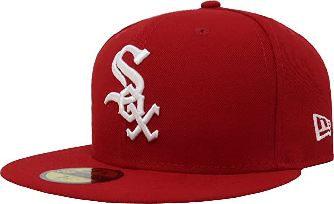 Authentic Chicago White Sox New Era 59fifty Cap Hat Size 7 1//2 Mlb MLB sox New