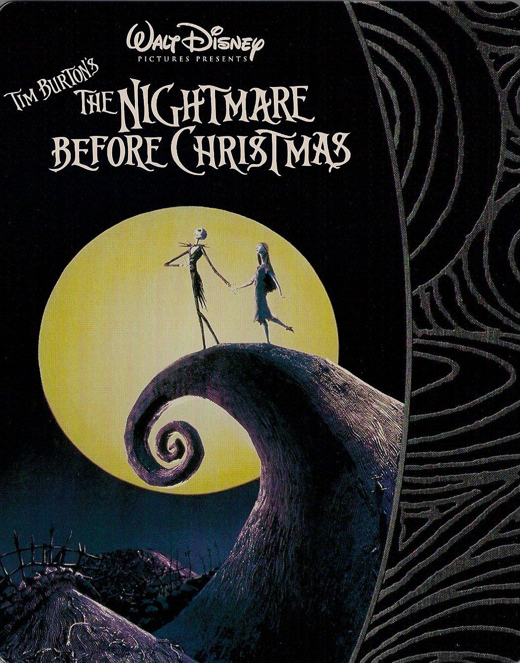 Amazon.com: Nightmare Before Christmas SteelBook [Blu-ray]: Henry ...