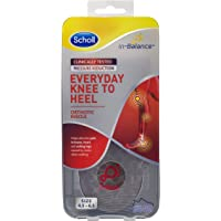 Scholl In-Balance Everyday Knee To Heel Orthotic Insole, Small Size, 45 - 65
