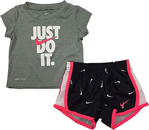 Little Boys /& Toddler Nike Athletic Dri Fit Shorts Size 2-4T 4-7 Black Blue Red