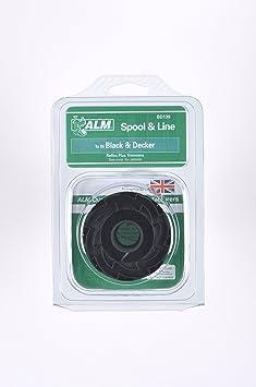 Bobina & Cuerda: Black Decker Reflex Plus recortador (doble cuerda Modelos) ALM: (doble cuerda Modelos) GL315, GL337/SB, GL350, GL500, gl546sc, GL600, ...