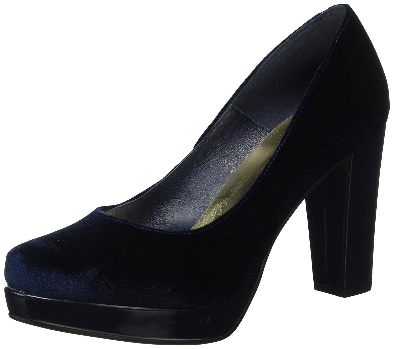 Shoe The Bear Alberte V, Sandalias con Plataforma para Mujer 39 EU|Azul (Navy)