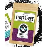 Birds & Bees Teas - Elderberries Organic - Dried 1 lb Bulk, Makes Great Black Elderberry Tea and Sambucus Nigra is Known for
