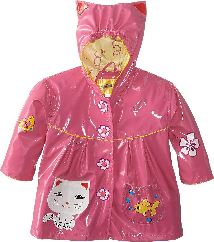 Kidorable Originale di Marca Cappotto di Pioggia Gatto Adorabile per Bambini Ragazze Ragazzi