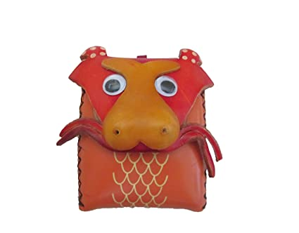 Amazon.com: anipals – Dragon – Monedero – Estuche de piel ...