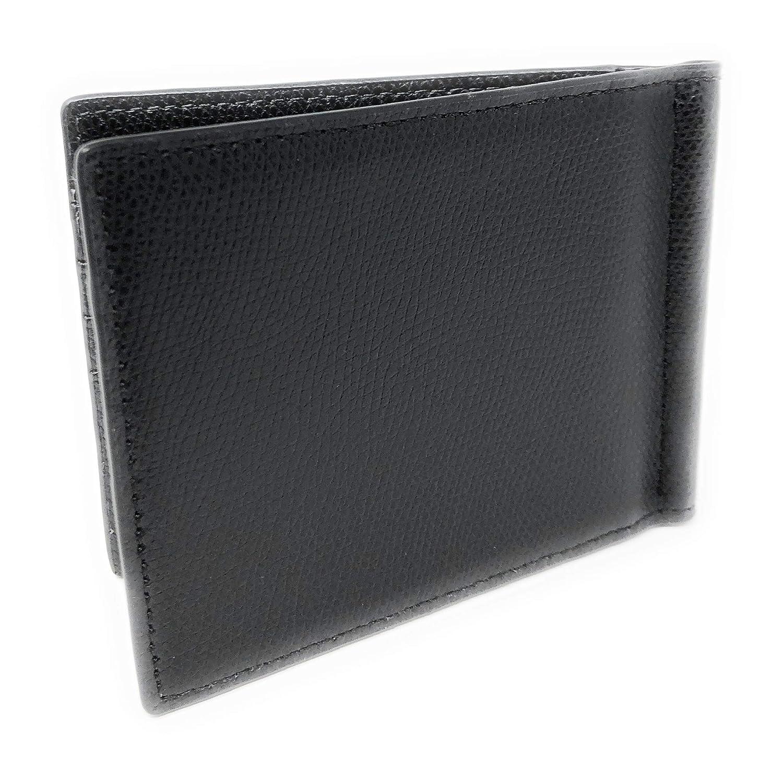 56b253cec405 Amazon.com: Michael Kors Men's Warren Slim Billfold Bifold Leather Money  Clip Wallet Black: Shoes