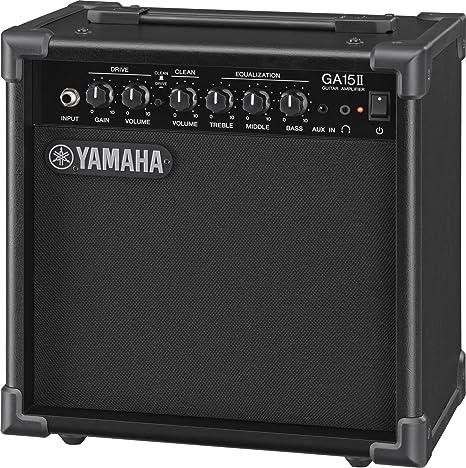 Yamaha GA15II - Amplificador de Guitarra con Transistor, Negro ...