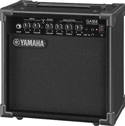Yamaha GA15II - Amplificador con transistor, color negro