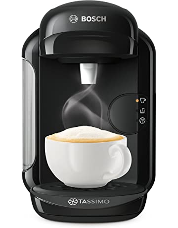 Bosch Tassimo Vivy 2 TAS1402GB Coffee Machine, 1300 Watt, 0.7 Litre - Black [Energy Class A]