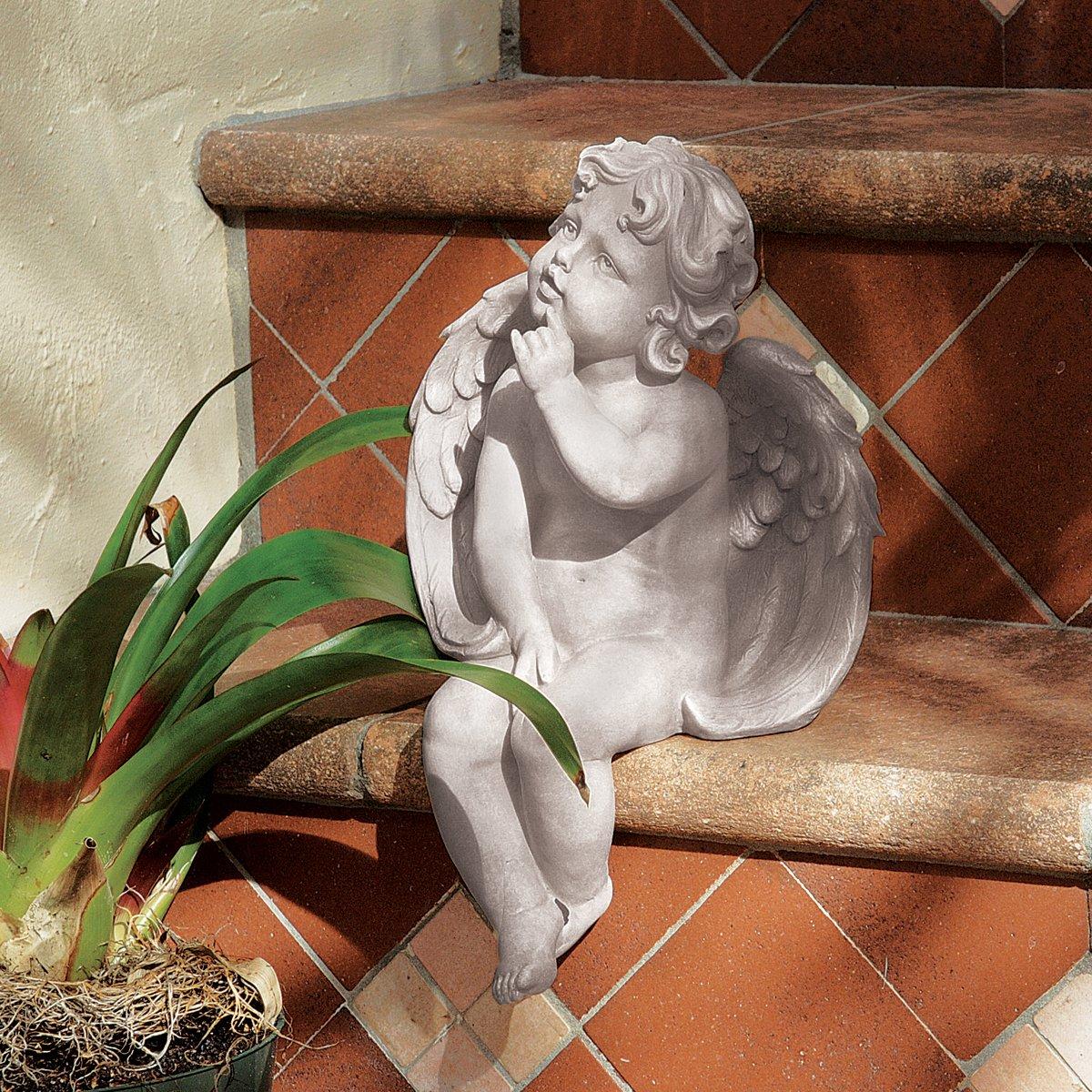 Design Toscano Scultura Angelo della contemplazione