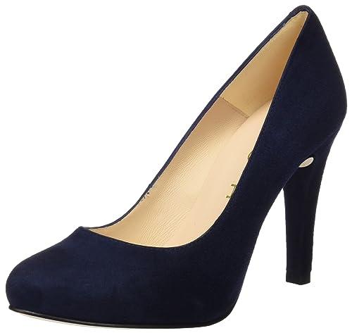 Patric_17_KS, Zapatos de Tacón para Mujer, Azul (Ocean), 38 EU Unisa