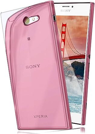 Funda Protectora OneFlow para Funda Sony Xperia M2 / M2 Aqua Carcasa Silicona TPU 0,7 mm | Accesorios Cubierta protección móvil | Funda móvil ...