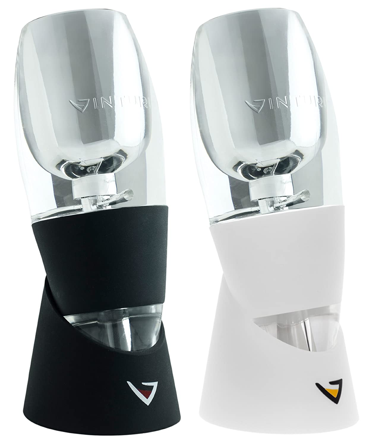 Vinturi V5000 Essential Wine Aerators for Red and White Wine, 2-set
