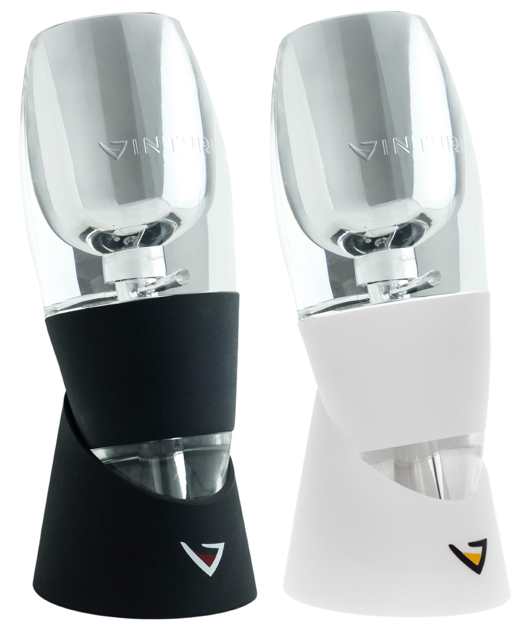 Vinturi V5000 Set of 2 Essential Wine Aerators for Red and White Wine by Vinturi