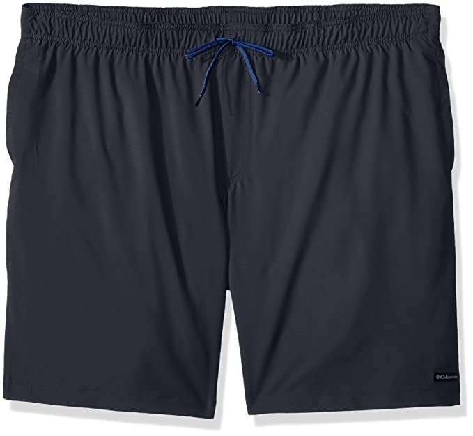f3ac09dd57 Image Unavailable. Image not available for. Colour: Columbia Men's Blue  Magic Water Short, Graphite Camp Print ...