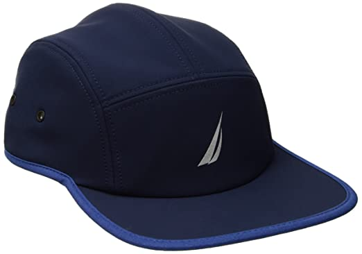 Nautica Men s Logo Stretch Baseball Cap Hat  Amazon.in  Clothing ... e45d12794898