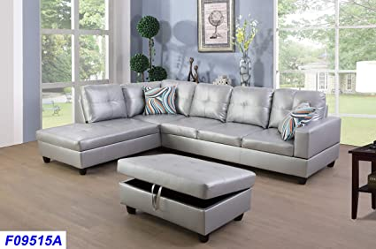 Awesome Amazon Com Lifestyle Furniture Left Facing 3Pc Sectional Gamerscity Chair Design For Home Gamerscityorg