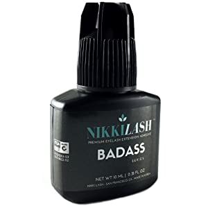 NIKKILASH BADASS Strongest Bond Eyelash Extension Glue