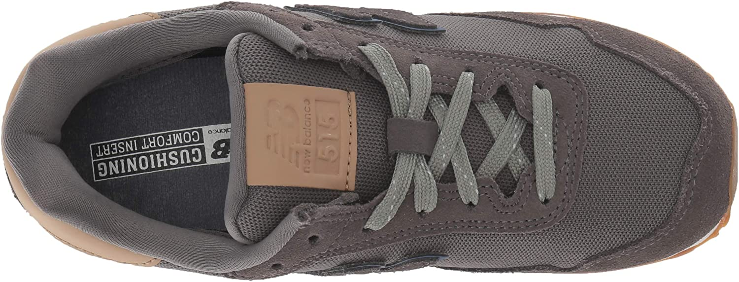 New Balance Youth KL515 Suede Textile Trainer Castlerock/Hemp