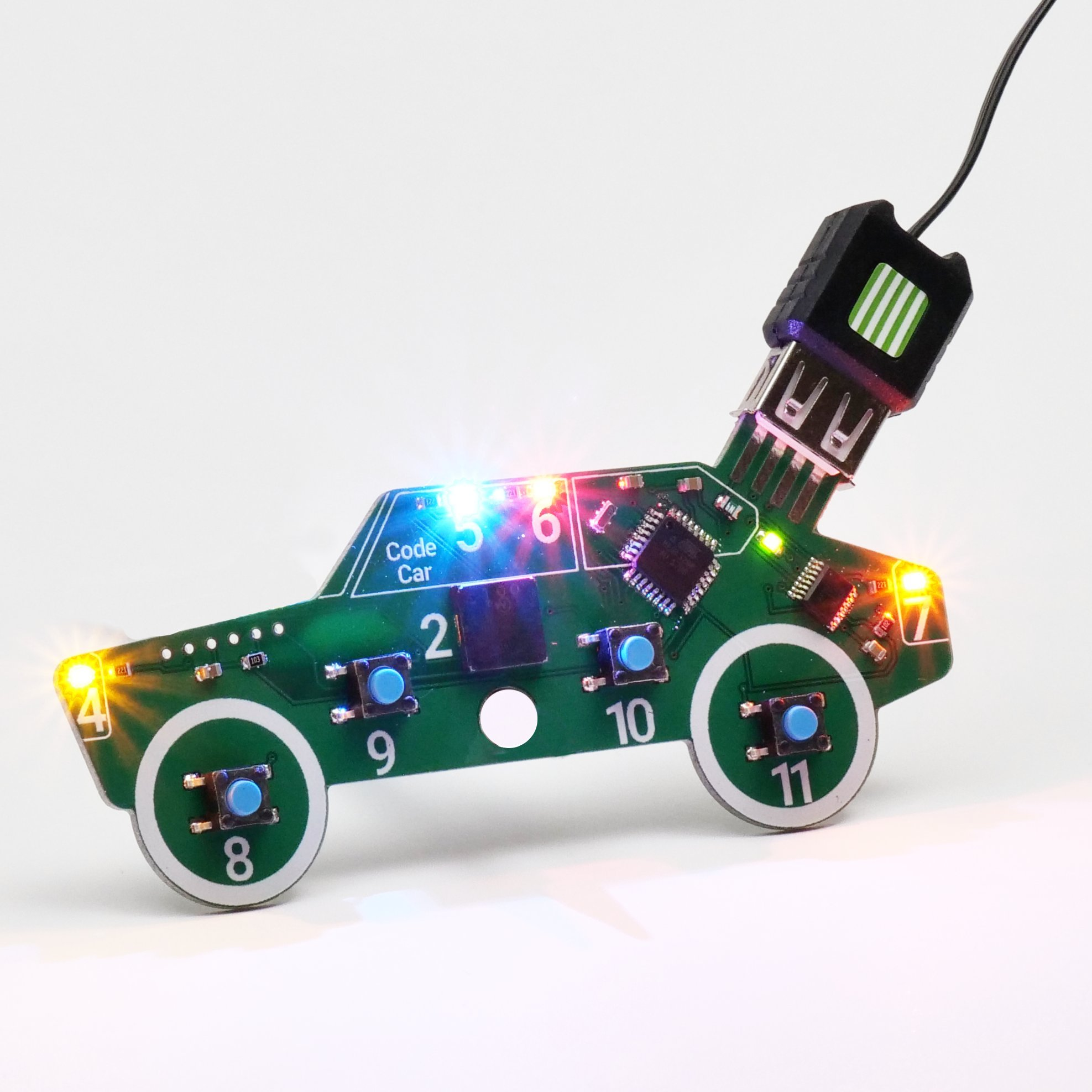Code Car Toy for Kids Age 8-12 | Typed Coding for Beginners | Free Project Guides Included