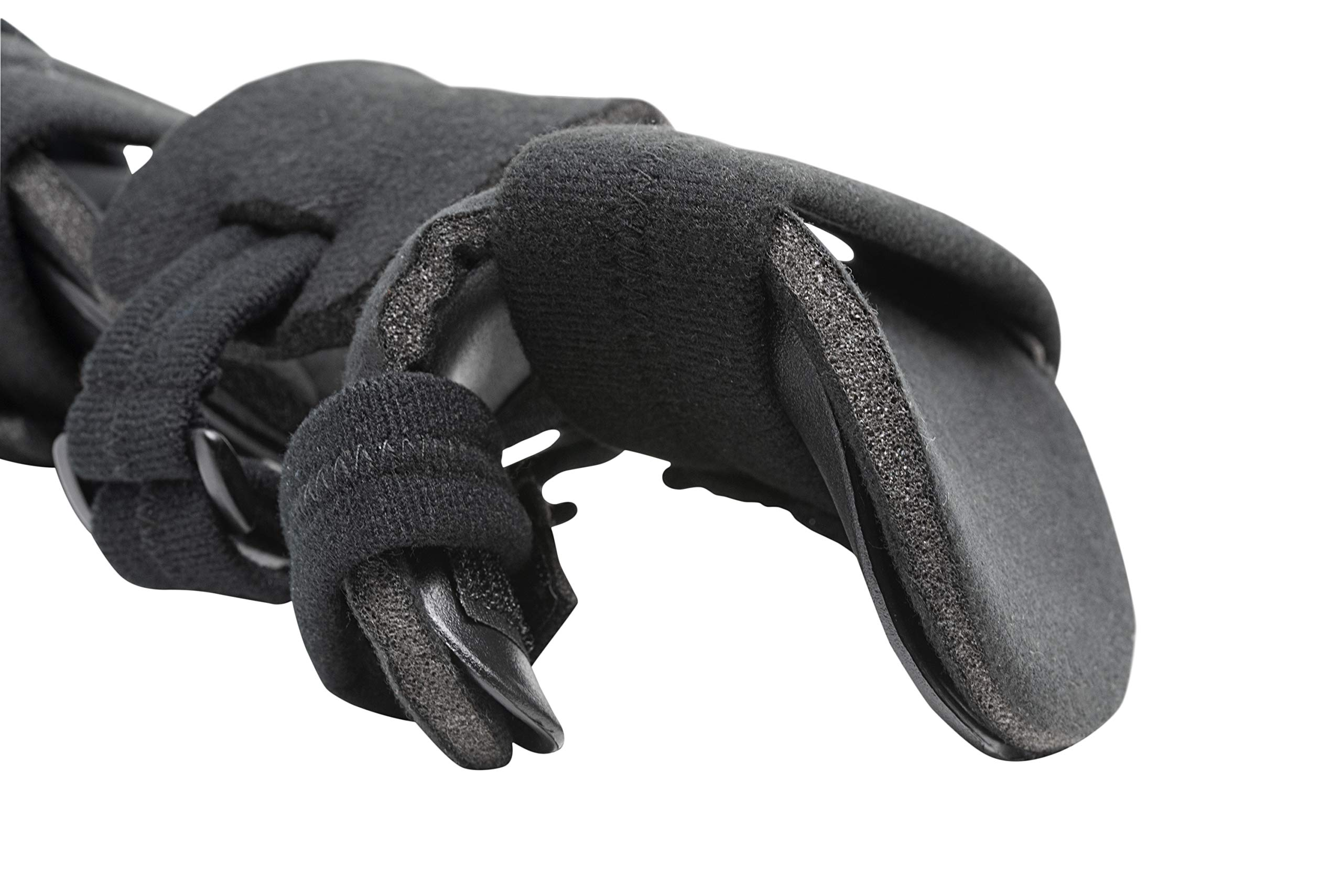 Stroke Hand Splint- Soft Resting Hand Splint for Flexion Contractures, Comfortably Stretch and Rest Hands for Long Term Ease with Functional Hand Splint, an American Heritage Industries(Left, Small) by American Heritage Industries (Image #4)