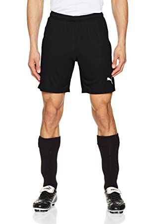 665f09f744 Puma Liga Shorts Core Homme, Noir Black White, FR (Taille Fabricant : 3XL
