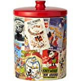 "Enesco Disney Ceramics Mickey Mouse Collage Cookie Jar, 9.25"", Multicolor"