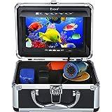 Eyoyo Portable 7 inch LCD Monitor Fish Finder Waterproof Underwater HD 1000TVL Fishing Camera (7 inch Infrared Lights(15m))