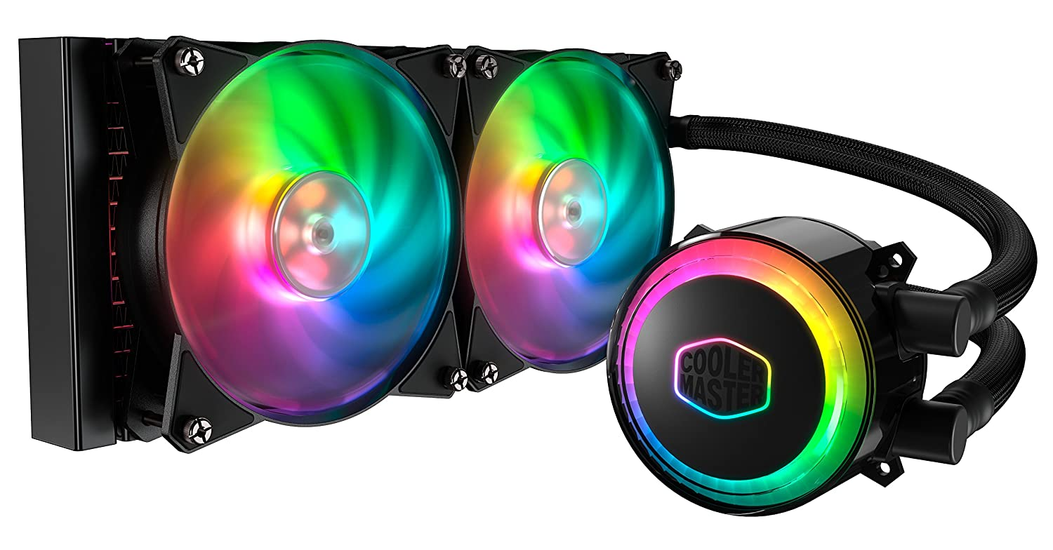 Cooler Master MasterLiquid ML240R RGB Liquid CPU Cooler