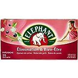 Elephant Infusion Elimination & Bien-Etre 25 Sachets 40g - Lot de 4