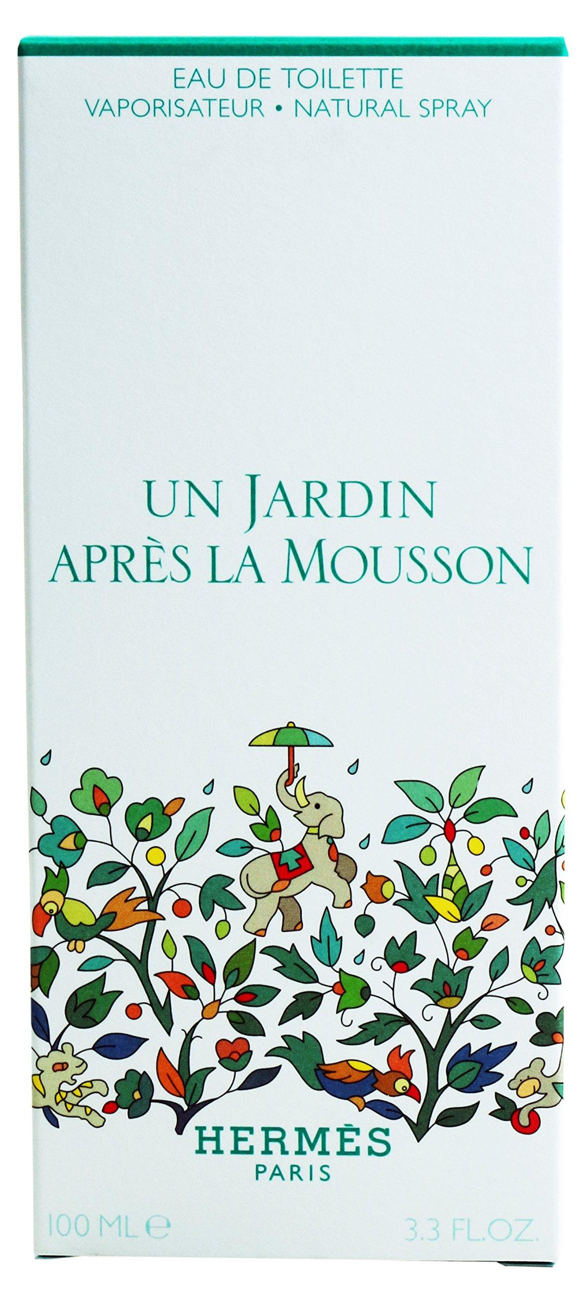 Un Jardin En Mediterranee By Hermes For Women. Eau De Toilette Spray 3.3 Ounces