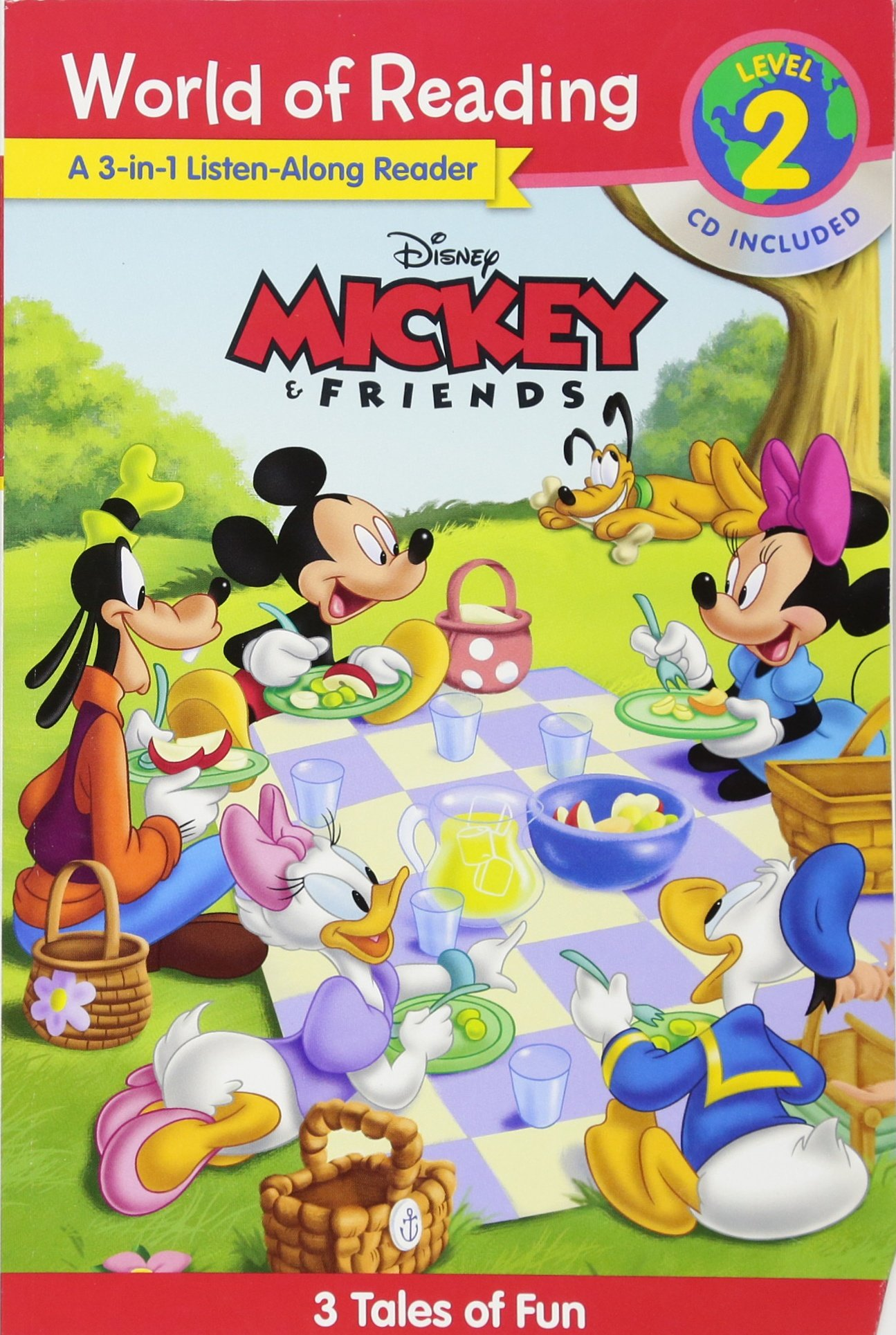Reading Mickey Friends Listen Along Reader product image