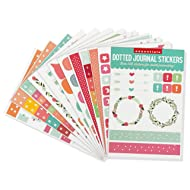 Essentials Planner Stickers for Dotted Journals (Set of 550+ stickers. Great for bullet journaling, weekly planners, and notebooks)